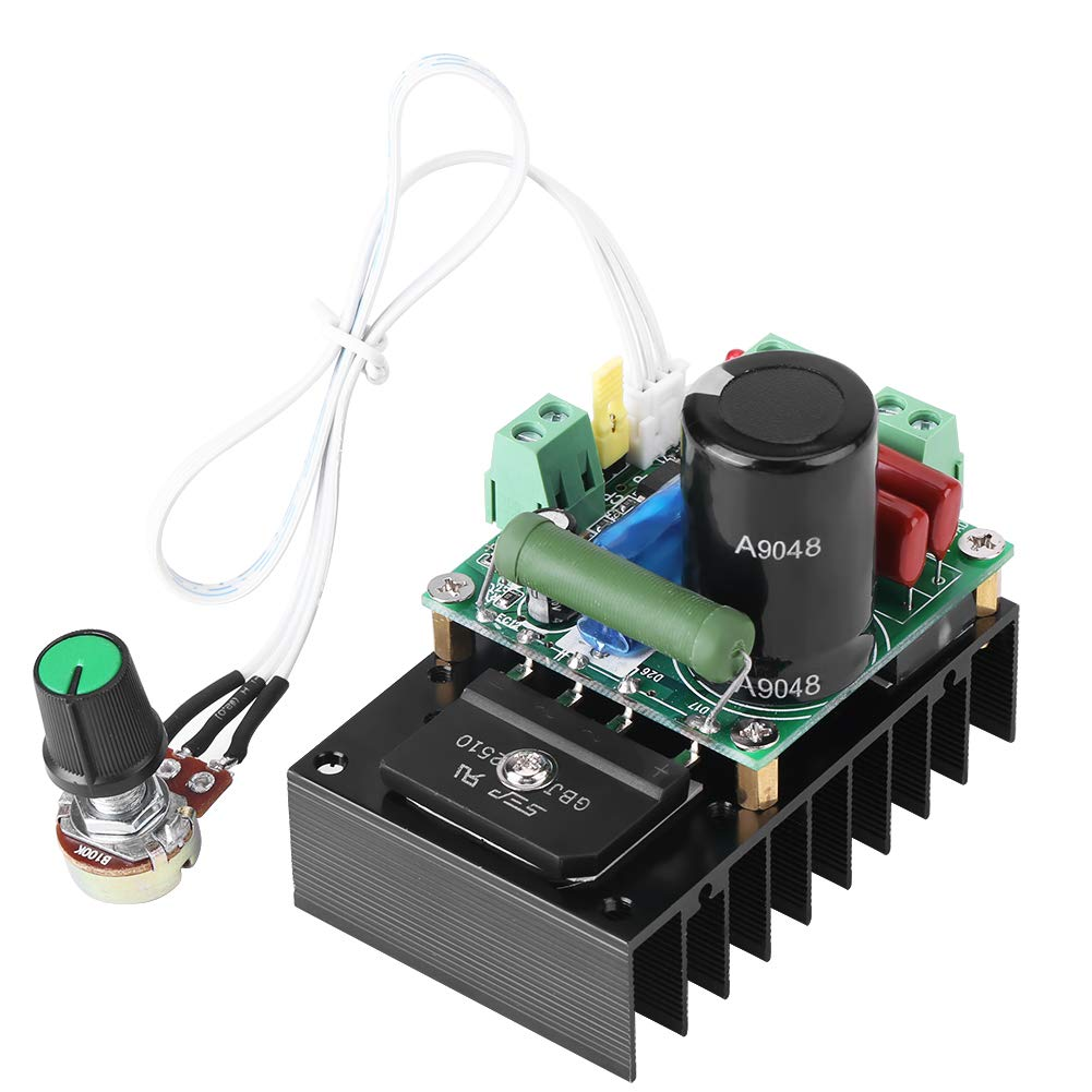 DC Motor Speed Controller,15-160V Adjustable PWM Motor Speed Controller,Support External PWM Signal Input