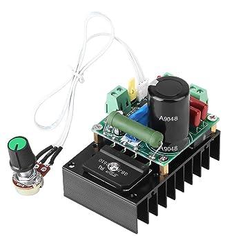 Controlador de velocidad del motor 12-110VAC 15-160VDC controlador de controlador de velocidad de motor DC 300W