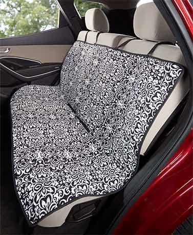 Quilted Car Seat Covers ( Damask ) Generic