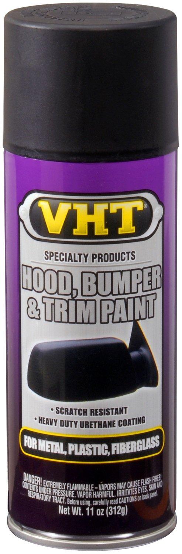 VHTフード、バンパー&トリムペイントsp27サテンブラック11オンススプレー B0090T4R8S
