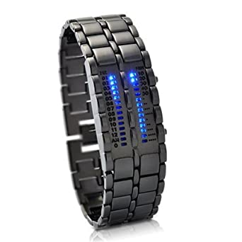 military style blue mens led watch futuristic super cool mens military style blue mens led watch futuristic super cool mens wristwatch ideal alienware accessory