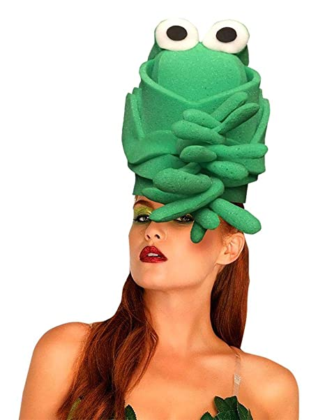 Superb Amazon.com: Funky Fresh Green Toad Adult Foam Costume Hat   One Size:  Clothing