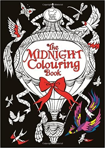 The Midnight Colouring Book: Amazon co uk: Richard Merritt