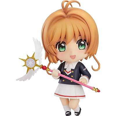 Good Smile Cardcaptor Sakura Clear Card: Kinomoto Tomoeda Junior High Uniform Version Nendoroid Action Figure: Toys & Games