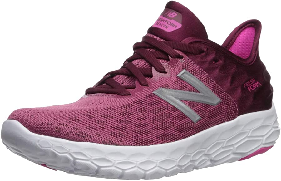 New Balance Fresh Foam Beacon, Zapatillas de Running para Niñas, Rosa (Pink Pink), 35 EU: Amazon.es: Zapatos y complementos