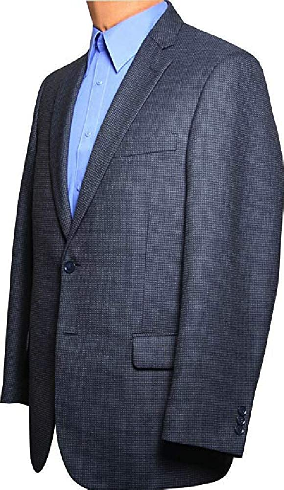 Short and Extra Long Sizes Long Regular Big and Tall Classic All Wool Sport Coats to Size 72 in Portly