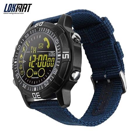 Amazon.com: Lokmat Reloj inteligente para hombres al aire ...