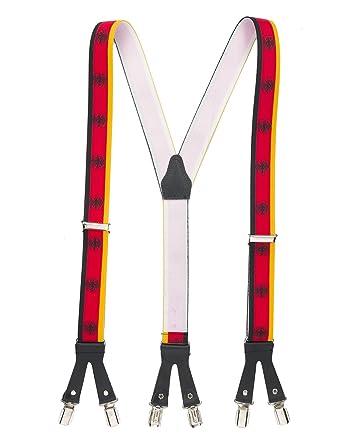 shenky - Bretelles à 6 pinces - sexy - cuir - armoiries de l Allemagne d6dab489b23