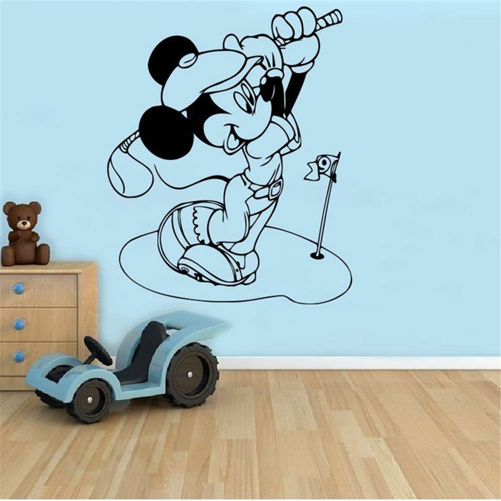 etiqueta de la pared Mickey Minnie Mouse Wall Art Decal Sticker ...