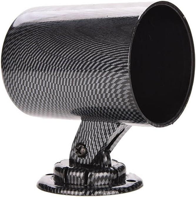 E Support Trade Kfz Kohlefaser 2 52mm Universal Halter Gauge Halterung Bracket Instrumentenhalter Abs Auto
