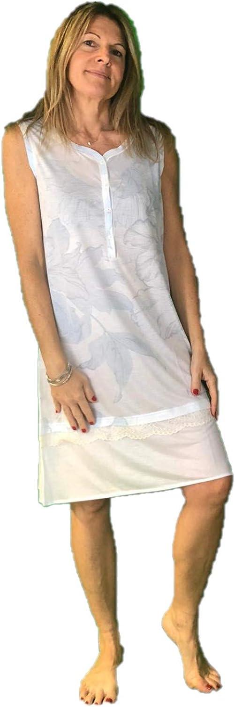 03483 BISBIGLI Camicia da Notte in Micromodal Art