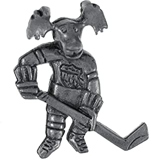 product image for Jim Clift Design Hockey Moose Lapel Pin