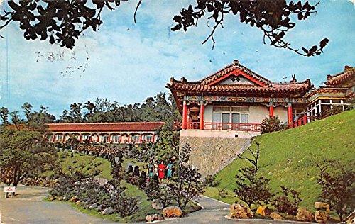 Golden Dragon and Jade Phoenix Wings, Grand Hotel Taipei China, People's Republic of China Postcard