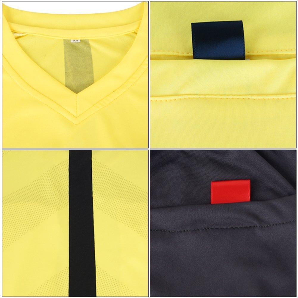 Shinestone Camiseta de Manga Larga para Hombre dise/ño de /árbitro