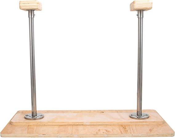 VEVOR Handstand Canes Fixed Base Handstand Canes Gymnastics Handstand Cane Hand Stand Cane Fixed Handstand Canes Feet Up Inversion Foldable Strong Body Training Beautiful Wood For Yoga Gymnastic