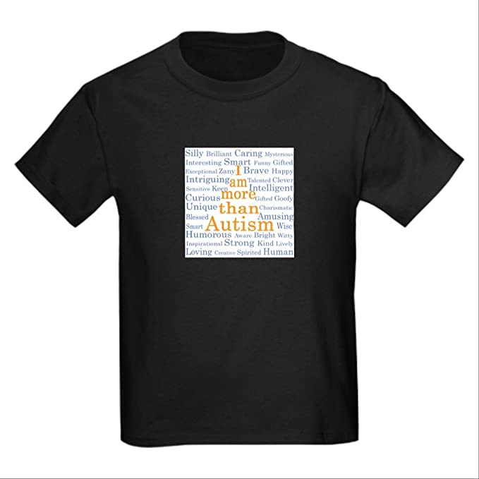44a8611592fd Amazon.com: CafePress - I Am More Than Autism - Kids Cotton T-shirt ...