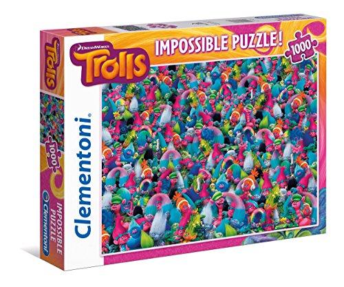 Clementoni Impossible Trolls Puzzle Piece product image