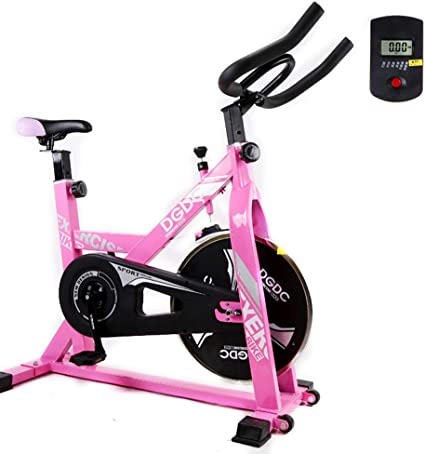 Shocly Bicicleta De Spinning Bicicleta Fitness Plegable Spinning Profesional Resistencia Variable Aptitud Casa Plasticidad,Pink: Amazon.es: Deportes y aire libre
