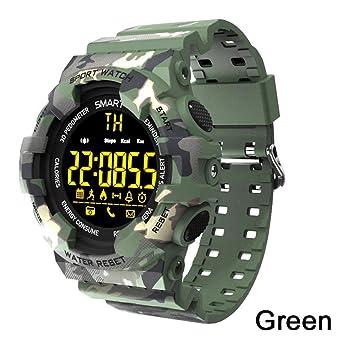 ZCPWJS Pulsera Inteligente BM18 Reloj Inteligente Reloj de Alarma ...