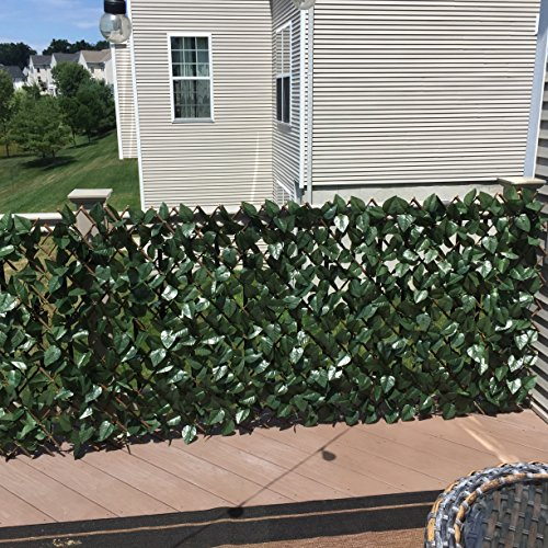 Compass Home M50866 Expandable Faux Ivy Privacy Fence ...
