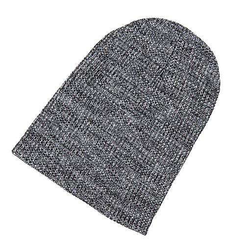 Winter Cozy Hat Slouchy Knitted Skull Beanie Caps Soft Warm (Snug Knitted Boot)