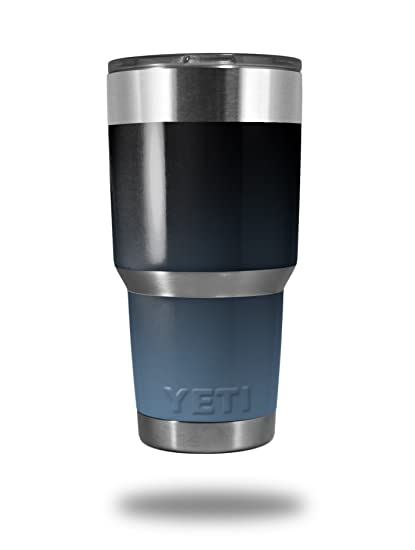 55d2e9777c5 Amazon.com : Skin Decal Wrap for Yeti Tumbler Rambler 30 oz Smooth Fades  Blue Dust Black (TUMBLER NOT INCLUDED) : Everything Else