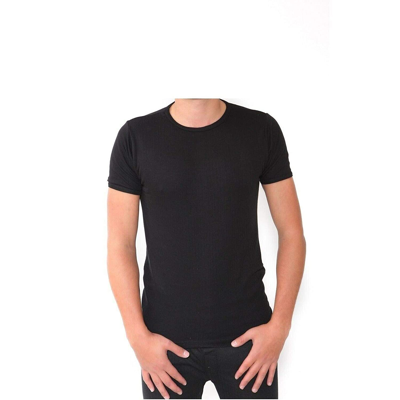 Mens Thermal Long John Short Long Sleeve Top Vest TShirts Underwear S M L XL XXL