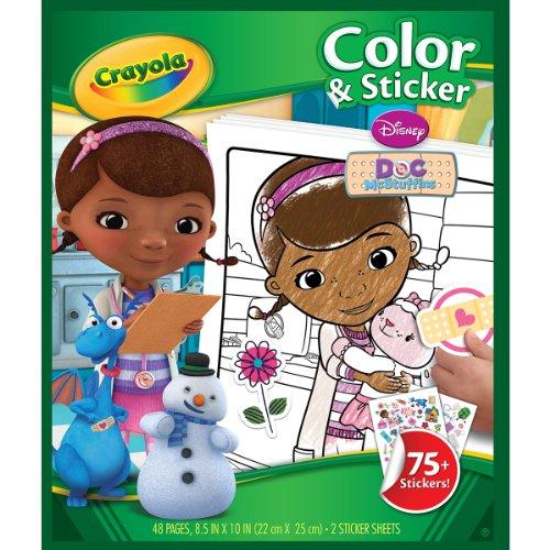 Crayola McStuffins Color Sticker Books