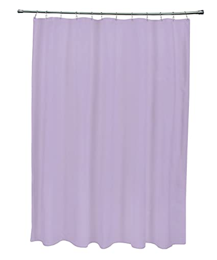 Image Unavailable Not Available For Color Ebydesign Solid Shower Curtain Lilac Purple
