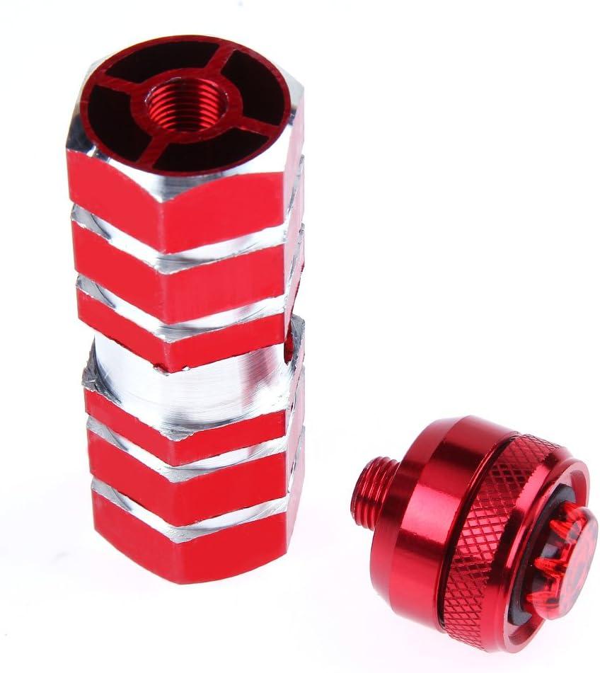 Broadroot lumi/ère LED /à p/édale pour v/élo Avant essieu arri/ère Pied de VTT Chevilles Repose-Pieds