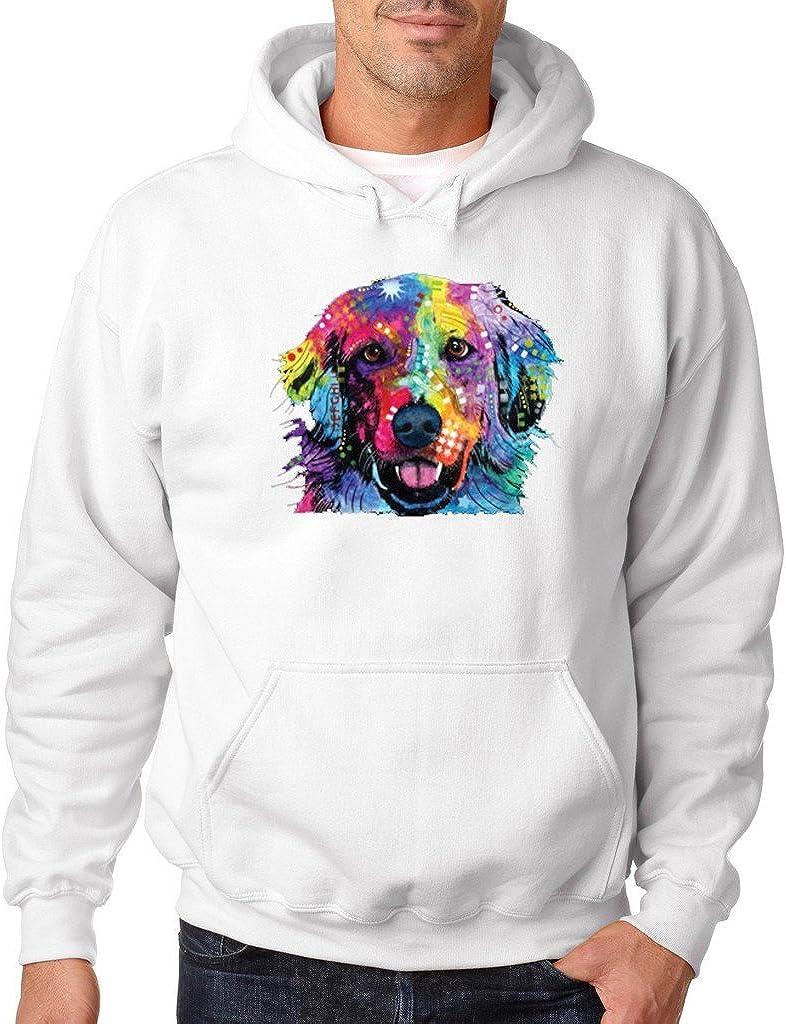 Love is Golden Hoodie Golden Retriever Best Friend Dogs Sweatshirt