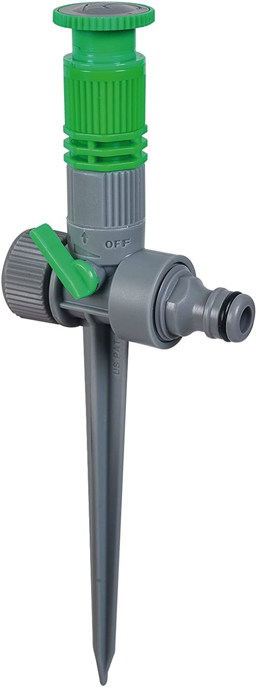 Bricomed ARC Nozzle Connect Aspersor Estaca Difusor, Verde Agua, 15x4x15 cm: Amazon.es: Jardín