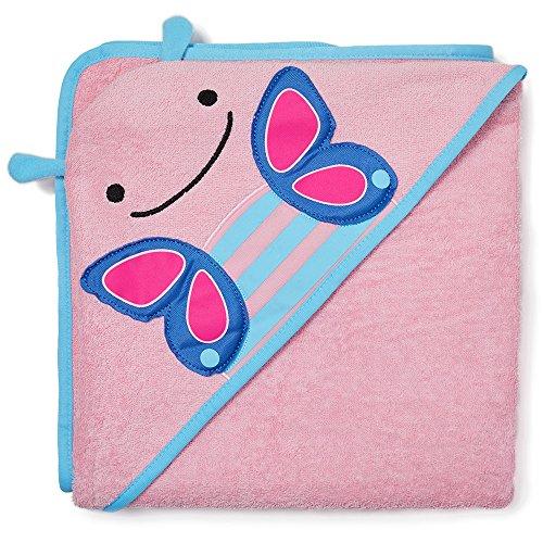Skip Hop Zoo Hooded Towel, Blossom Butterfly, Multi