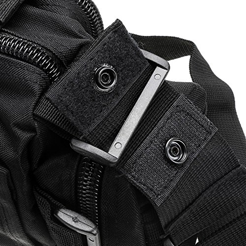 Tactical Hunting Tackle Bag Molle Utility Waist Single Shoulder Backpack Bag Pack Outdoor Sports Bag Mountaineering Bag by LIVIQILY (Image #4)