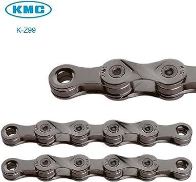 KMC Z99 - Cadena para bicicleta (9 velocidades, 116 eslabones + botón mágico, compatible con Shimano SRAM Campagnolo): Amazon.es: Deportes y aire libre