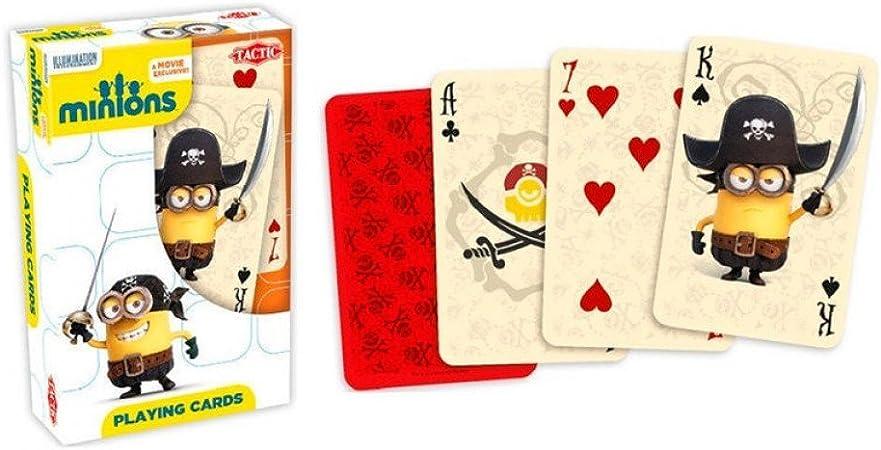 BARAJA CARTAS MINIONS: Amazon.es: Juguetes y juegos