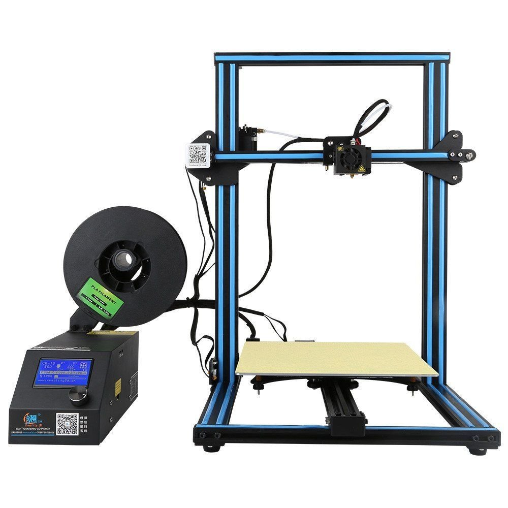 Official Creality 3D CR-10 3D Printer With Heated Bed And