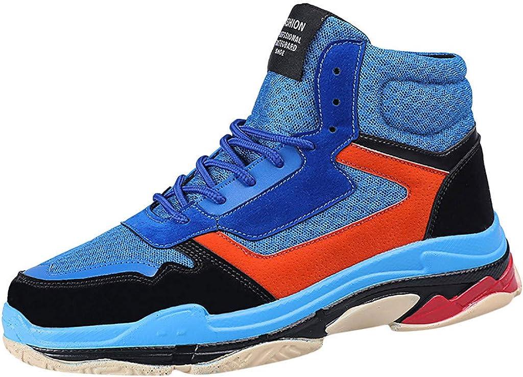 Subfamily Zapatillas de Deporte Transpirables de Punto Voladoras para Hombre, Zapatillas de Baloncesto Antideslizantes: Amazon.es: Zapatos y complementos