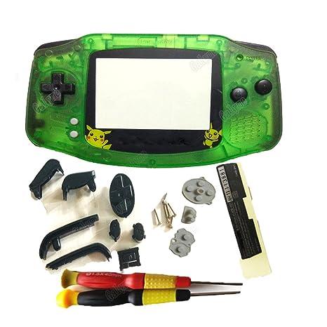 Carcasa para Gameboy Advance GBA, diseño de Pokemon, Color ...