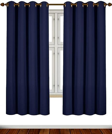 Blackout Room Darkening Curtains