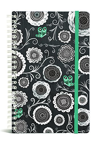 Gift Trenz Franklin Mill Iron Blossoms Wire Notebook, Ruled (1235)