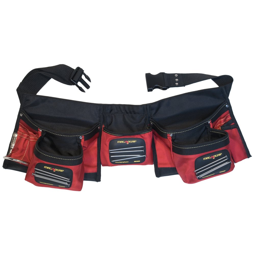 3. MagnoGrip 203-017 Magnetic Carpenter's Tool Belt: