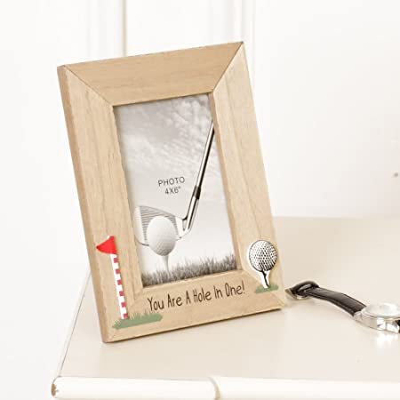 Golf Enthusiast Gift Set! Photo Frame and Coaster Gift Set for An ...