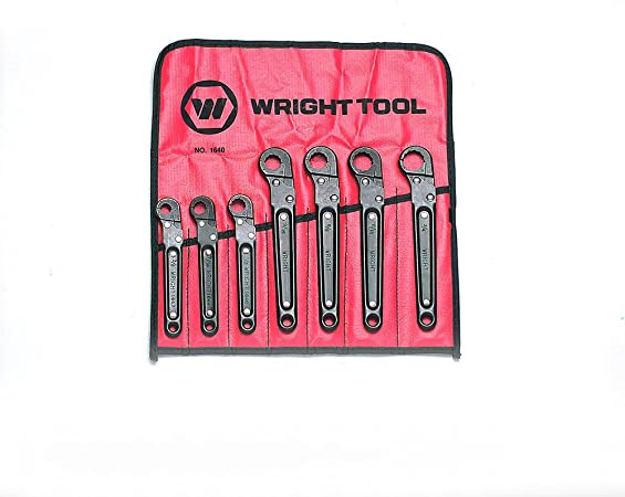 3//8 Wright Tool 1040 6-Point Combination Open End Flare Nut Wrench