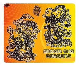 Traditional Dragon Design Rectangular Mouse Pad Shine