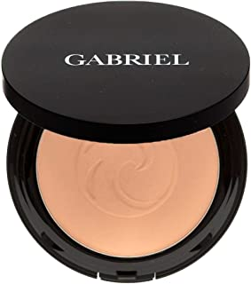 product image for Gabriel cosmetics,Dual Powder Foundation, Natural, Paraben Free, Vegan, Gluten-free, Cruelty-free, Non GMO, Pressed mineral powder, enhanced with Sea Fennel. (Olive)