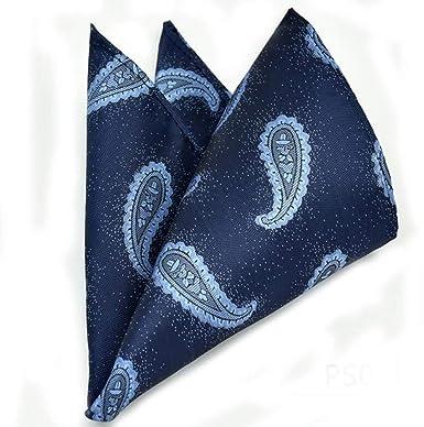 Patrón De Corbata De Paisley Para Hombres Pañuelo Simple De Boda ...