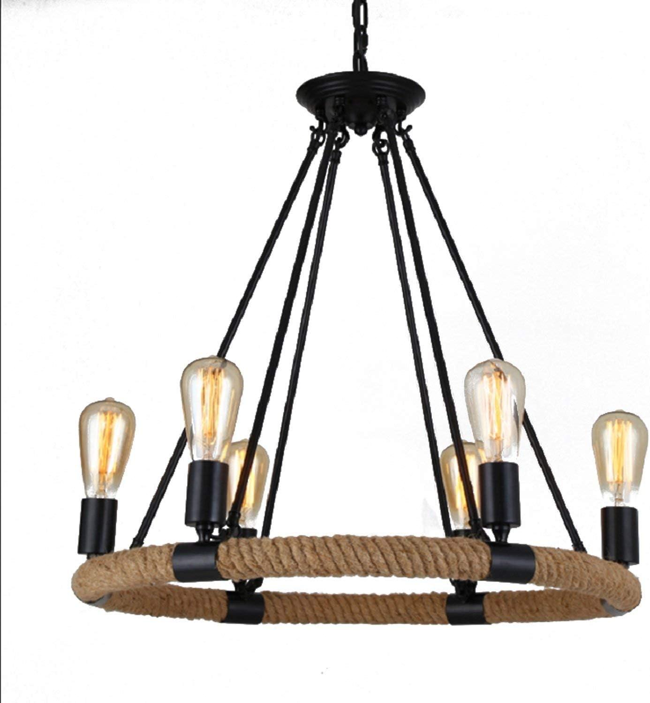 Hai Ying ♪ * Arañas de Cuerdas rústicas Lámparas Colgantes ...