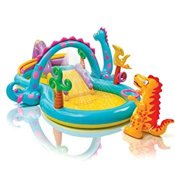 Intex Dinoland Inflatable Play Center Kiddie Pool