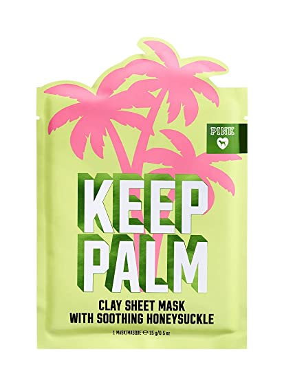 f0ff7dc0b6fef Amazon.com: VICTORIA SECRET - KEEP PALM FACE MASK WITH HONEYSUCKLE ...